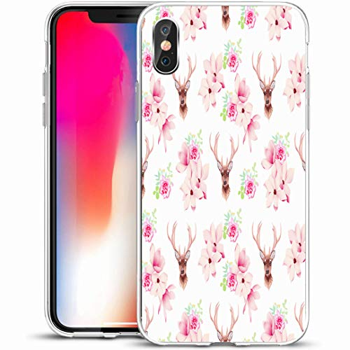 Ahawoso Custom Phone Case Cover for iPhone X/XS 5.8