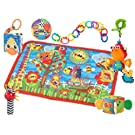 Playgro Playmat Gift Pack, Friends and Fun, 0-24 Months (Discontinued by Manufacturer)