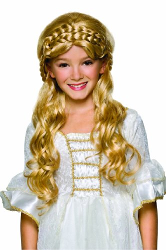 Rubie's Enchanted Princess Child's Costume Wig, Blonde