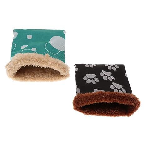 Sharplace Saco Dormir Cama de Algodón Mascota Loro Accesorios de Animales Pequeño Fácil de Usar Elegante