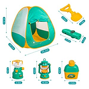Kids Camping Set with Tent 24pcs - Camping Gear Tool