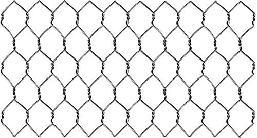 "304 Stainless Steel 22 Ga. Chicken Wire Fence, 24"" x 150"