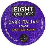 Eight O'Clock Coffee Dark Italian Roast K-Cups, 24-Count (Pack of 2)