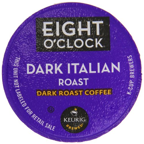 Eight O'Clock Coffee Dark Italian Roast K-Cups, 24-Count (Pack of 2) (Eight O Clock Coffee Pods)