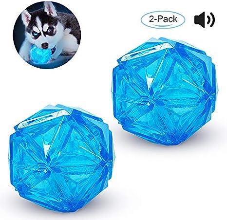 Juguete de Juguete para Perros con luz LED y Pelota para Perros ...