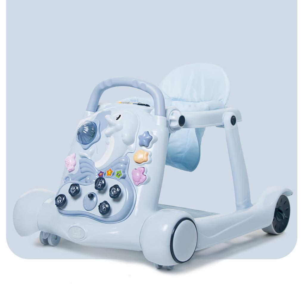 LFY Andador para bebés 2 en 1: Altura del Asiento Ajustable ...