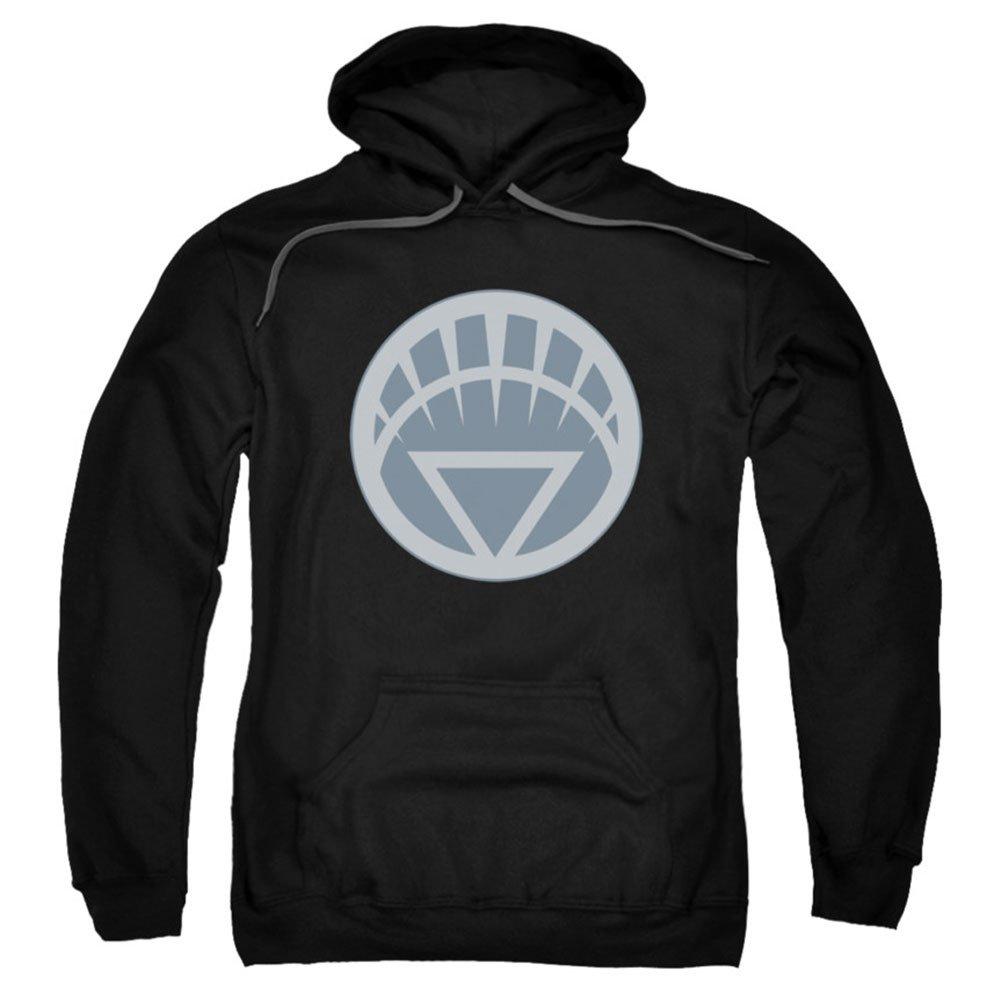 Green Lantern White Symbol Licensed Adult Sweatshirt Hoodie