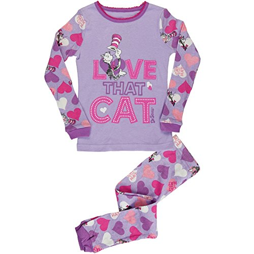 Dr. Seuss - Love That Cat Toddler Pajama Set
