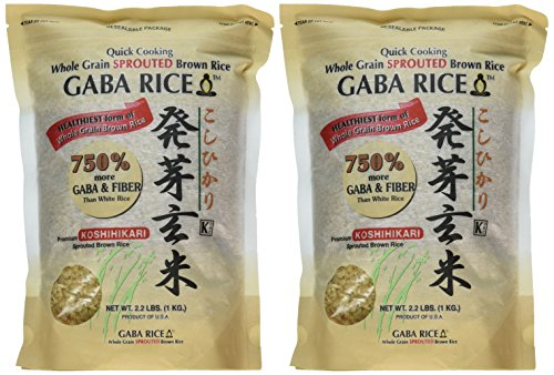 gaba rice Amazoncom : koshihikari premium sprouted brown gaba rice, 22-pound pouches (pack of 2) : dried brown rice : grocery & gourmet food.