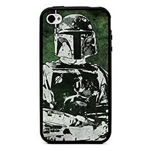 meilinF000Star Wars Boba Fett Black TPU Case Skin for iphone 5/5s Iphone4 CovermeilinF000