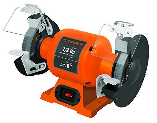TRUPER EBA-650 6'' Bench Grinder, 1/2 HP by Truper