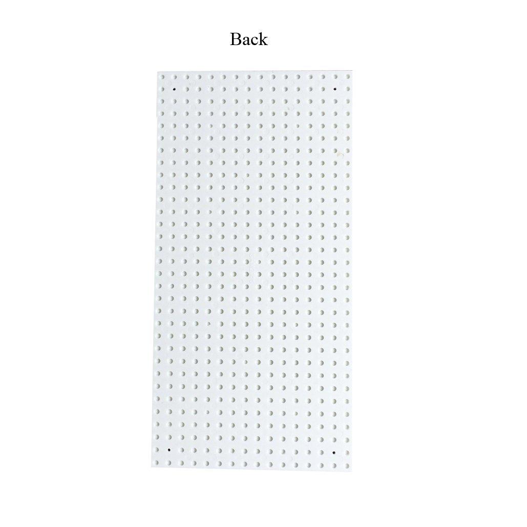 "Compatible Major Brands Building Block Toys Taken All Building Bricks Block Base Plate White 6 Pack of 5/""X10/"" Baseplates"