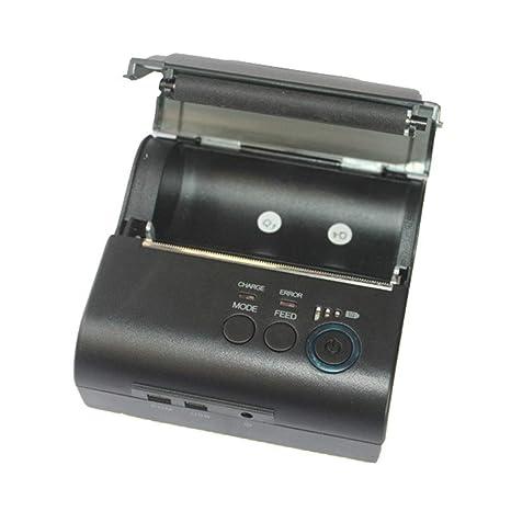 WSY Impresora Bluetooth portátil, Impresora de Tickets portátil 90 ...