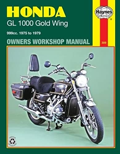 honda gl1000 gold wing 1975 79 owners workshop manual haynes rh amazon com 1999 honda goldwing 1500 owners manual 2001 Honda Goldwing