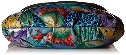 Large Convertible World Flap Dolphin Over Anuschka LL Ftdwp7q