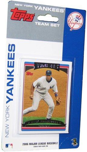 2006 Topps Team Set (MLB New York Yankees Licensed 2006 Topps® Team Sets)