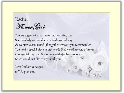 Luxury Personalised Wedding Canvas Card