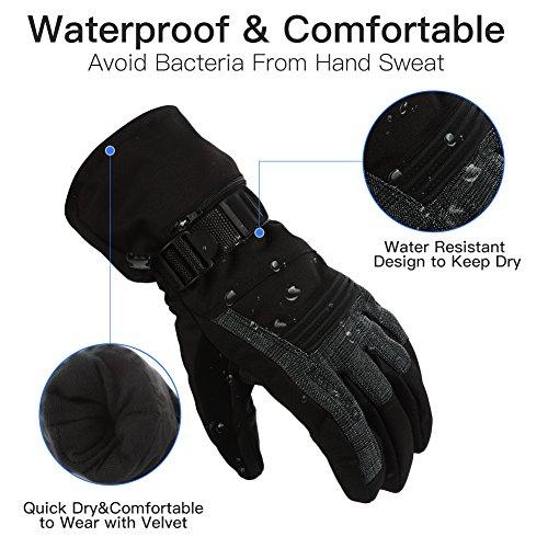Review Mounchain Winter Ski Gloves