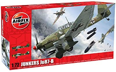 Airfix A03030A Junkers Ju-87B 1:72 Scale Military Aircraft Series 3 Model Kit