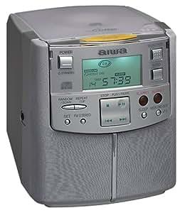 aiwa fr cd2500 cd clock radio with digital tuner home audio theater. Black Bedroom Furniture Sets. Home Design Ideas