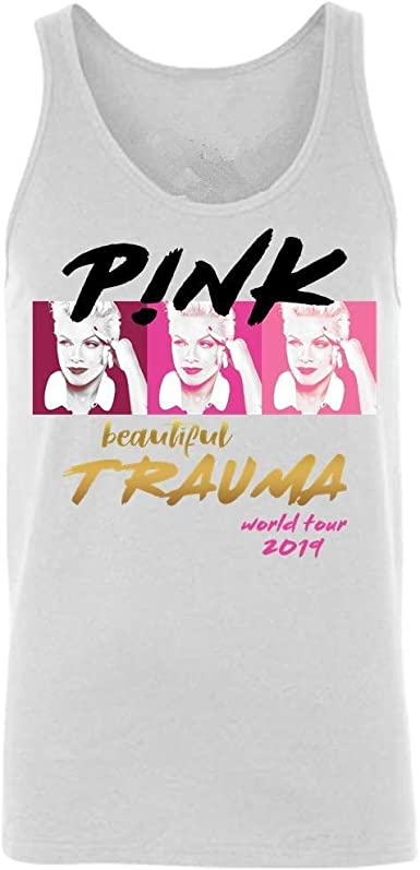 Sdmnsg_T Tshirt Beautiful-Pink- Beautiful Trauma Camiseta clásica ...