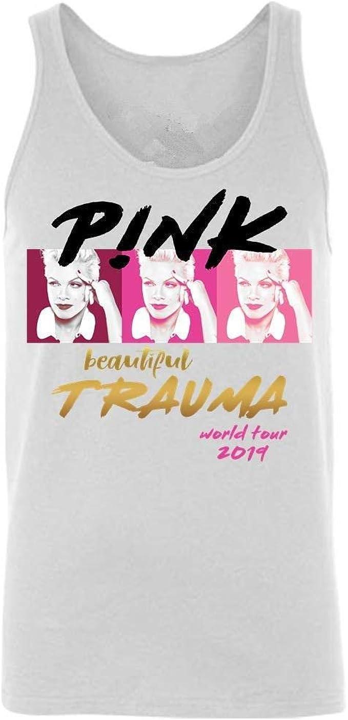 Sdmnsg_T Tshirt Beautiful-Pink- Beautiful Trauma Camiseta clásica ...