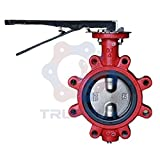 Butterfly Valve | Wafer | Buna Seat | Size 4'' | DI NP Disc