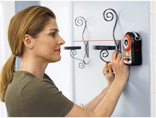 BLACK DECKER Line Laser, Auto-Leveling With AnglePro BDL170