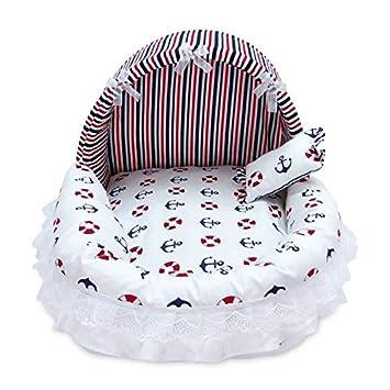 Amazon.com: Cama para perro, cómoda y encantadora cama suave ...
