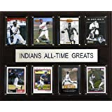 MLB Cleveland Indians All-Time Greats Plaque