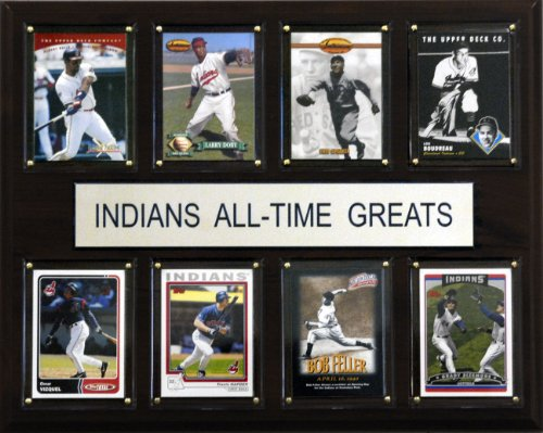 Cleveland Indians Star - MLB Cleveland Indians All-Time Greats Plaque