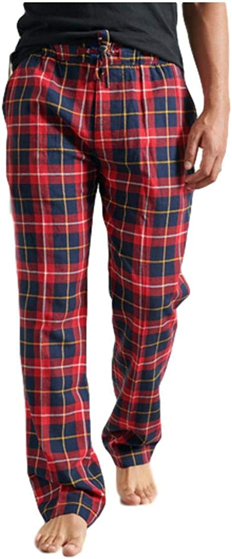Superdry Mens Laundry Flannel Pant Pajama Bottom