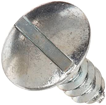 #8-18 Thread Size Steel Sheet Metal Screw Pack of 100 Phillips Drive Type AB Zinc Plated 5//8 Length Truss Head