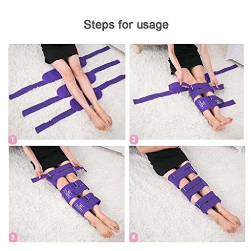 Mesurn Adult Child Leg Correction O/X Leg Correction Belt Band Leg Correction Tape Straightening Thin Leg Multiple Colour Correction Band (Color : Pink, Size : M) by Leg Corrector Bandage (Image #3)