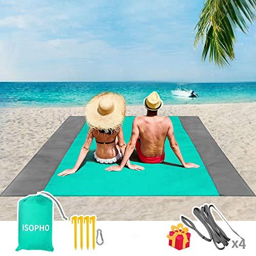 ISOPHO Beach Blanket 79''×83''