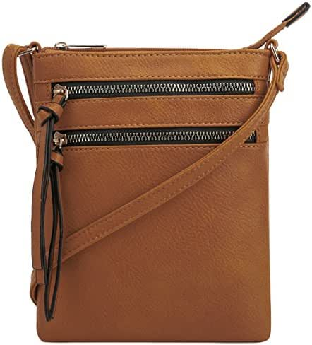 8 bình luận. Từ Mỹ. DELUXITY   Crossbody Purse Bag   Functional Multi Pocket  Double Zipper Purse   Adjustable Strap ... abe0dfc3f0