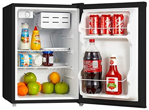 Emerson Cubic Foot Refrigerator Black