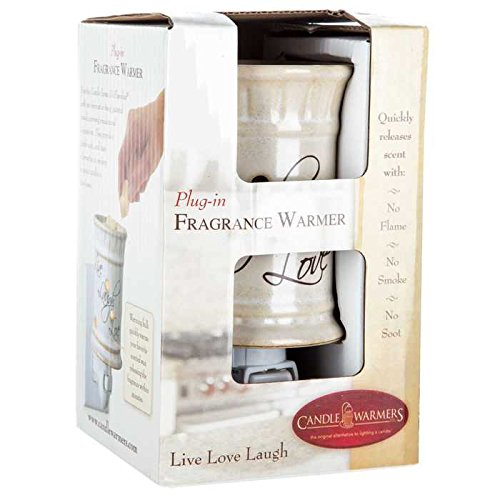 Scented Wax Warmer Live Laugh Love Plug-In Ceramic Warmer Replace Scented Candles