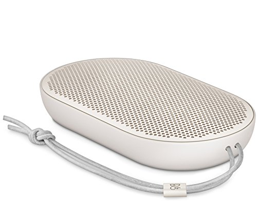 B&O PLAY by Bang & Olufsen Beoplay P2 Portable Bluetooth Speaker with Built-In Microphone (Sand Stone)