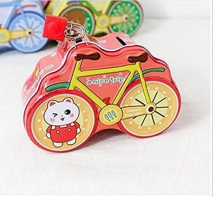 Caja de almacenamiento para bicicleta, diseño de cerdito, color ...