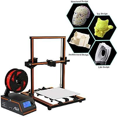 TFCFL Impresora 3D Anet E12 Tamaño de impresión grande 30x30x40cm ...