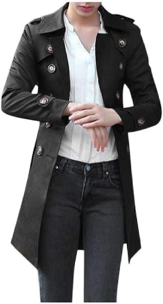 NOBRAND 2020 Trenchcoat Mode Langarm Button Spring Damen Regenmantel Casual Pocket Damen Windjacke Plus Size Langmantel Damen