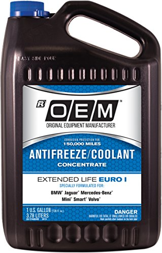 OEME Blue Premium Antifreeze Concentrate Extended Life - Euro I BLUE, 1 gallon, 1 Pack ()