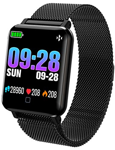 findtime Fitness Tracker Heart Rate Monitor Blood Pressure Sleep Tracker Pedometer Calorie Activity Tracker Smart Watches for Men - Sports Combination Watch
