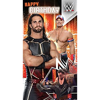 Amazon Wwe Happy Birthday Card Office Products