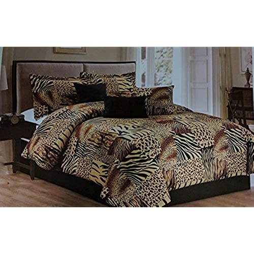 bed bedding print foter animal piece explore set comforter size luxury king
