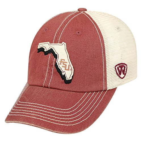 Top of the World NCAA Florida State Seminoles United Cap, One Size, -