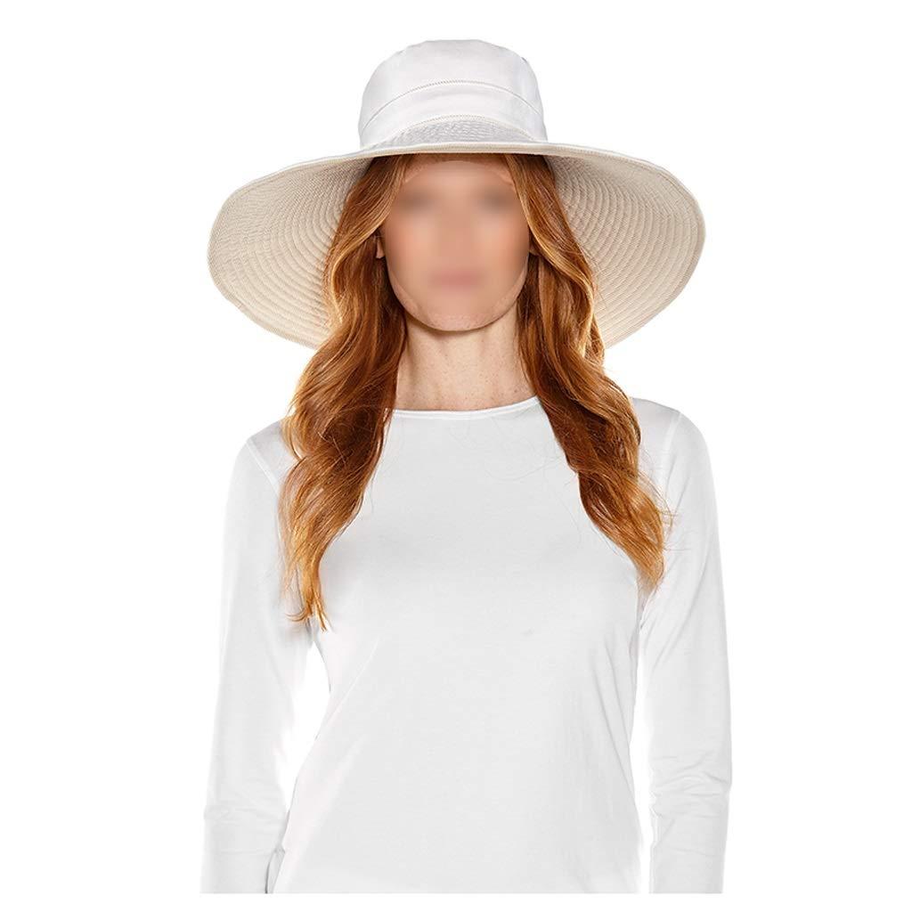 B Summer Big Hat, Lady Sun Hat, Beach Hat, Sun Predection Cap, UV Predection,Suitable for All Seasons,4 color (color   D)