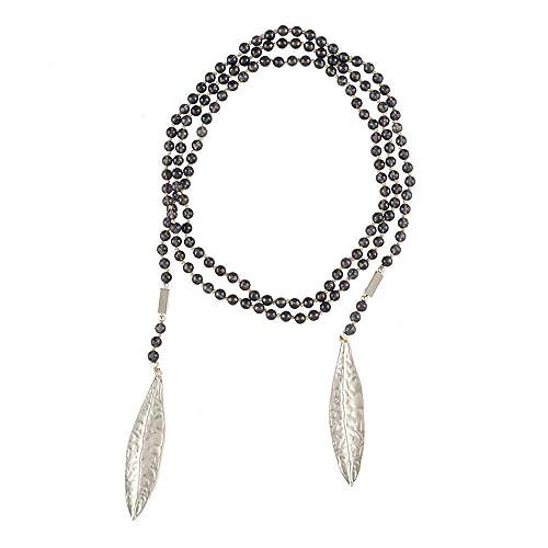 73826d159f63 LuckyLy – Collares de Mujer Largos – Estilo Wrap – Collar Adeline con  Piedras Naturales y