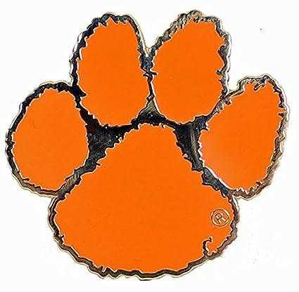 amazon com clemson tigers logo pin sports outdoors rh amazon com clemson tigers logo history clemson tigers logo crossword